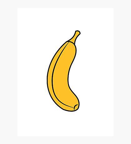 Banana fruit healthy fruit Photographic Print