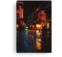 One Of These Nights Canvas Print