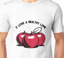 Healthy living apples fruit Unisex T-Shirt