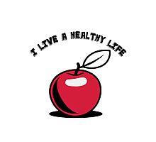 Healthy living Apple fruit Photographic Print