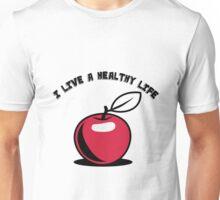 Healthy living Apple fruit Unisex T-Shirt