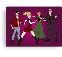 Disney BtVS Scoobies Canvas Print