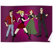 Disney BtVS Scoobies Poster