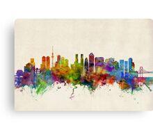 Tokyo Japan Skyline Cityscape Canvas Print