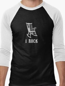 I ROCK AC/DC STYLE Men's Baseball ¾ T-Shirt
