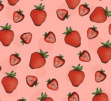 Strawberries by janelledimmett
