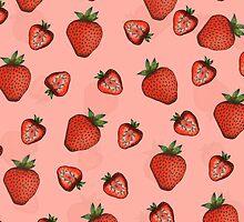Strawberries by janelledimmett