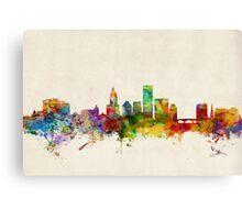 Providence Rhode Island Skyline Canvas Print