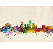 Providence Rhode Island Skyline Photographic Print