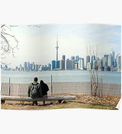 Romance in Toronto Poster