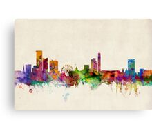 Birmingham England Skyline Cityscape Canvas Print
