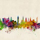 Glasgow Scotland Skyline Cityscape by ArtPrints