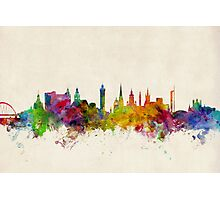 Glasgow Scotland Skyline Cityscape Photographic Print