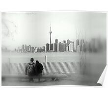 Toronto Blurry Romance Poster