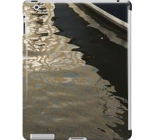 Silky Zigzags and Swirls - a Waterfront Abstract iPad Case/Skin