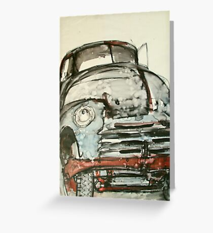 old truck ink Greeting Card