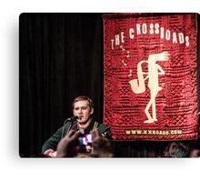 Brian Fallon Acoustic Canvas Print
