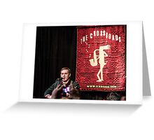 Brian Fallon Acoustic Greeting Card