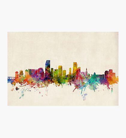 Miami Florida Skyline Cityscape Photographic Print