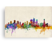 Brisbane Australia Skyline Cityscape Canvas Print