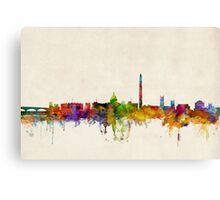 Washington DC Skyline Skyline Canvas Print