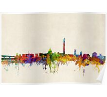 Washington DC Skyline Skyline Poster