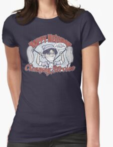 Happy Heichou Cleaning Service Womens Fitted T-Shirt