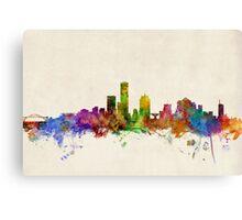 Milwaukee Wisconsin Skyline Cityscape Canvas Print