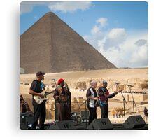 Jazz for the Pharaoh  Canvas Print