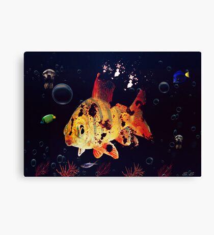 Corpse Fish Canvas Print