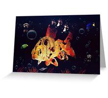 Corpse Fish Greeting Card