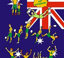 World cup 2014 Australia by colortown