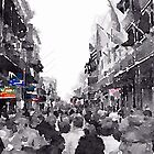 Bourbon Street  by Dennis Maida