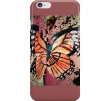 Autumn butterfly graphic iPhone Case/Skin