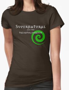 Supernatural and the trickster paradox Womens Fitted T-Shirt
