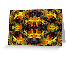 Kaleidoscopic Garden 9 Greeting Card