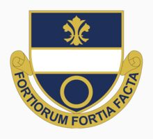 365th Infantry Regiment - Fortiorum Fortia Facta - The Brave Deeds Of Brave Men by VeteranGraphics