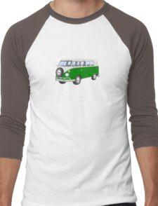 Sixties VW T-1 Volkswagen Van Men's Baseball ¾ T-Shirt