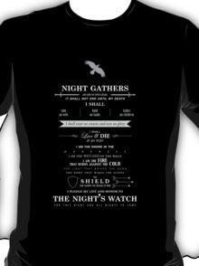 Night's Watch T-Shirt T-Shirt
