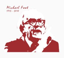 Michael Foot (with Red Text) by LetThemEatArt