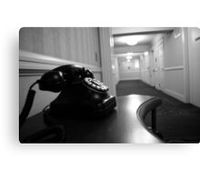 Telephone Canvas Print