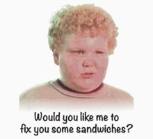 Would you like me to fix you some sandwiches by mattclark