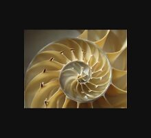 Spiral shell of nautilus Unisex T-Shirt