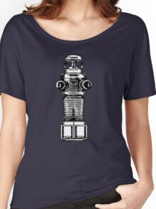 Lost In Space, Robot, Space, Science Fiction, Planets Women's Relaxed Fit T-Shirt