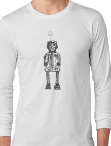 Robot, Zoomer, Science Fiction, Toys, Mechanical Man Long Sleeve T-Shirt