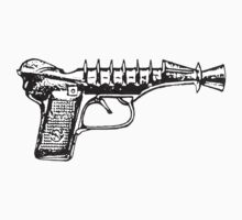 Raygun, Ray Gun, Space Gun, Science Fiction, Pistol by scifidude