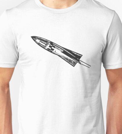 Rocketship, Space Ship, Rocket, Missile, Science Fiction Unisex T-Shirt