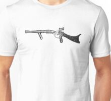 Space gun, Raygun, Space Rifle, Science Fiction, Space Unisex T-Shirt