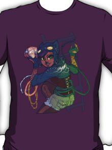 Selina Kyle Catwoman Punk Rocker Hipster T-Shirt