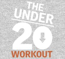 Under 20 Workout White/Orange Logo Kids Clothes